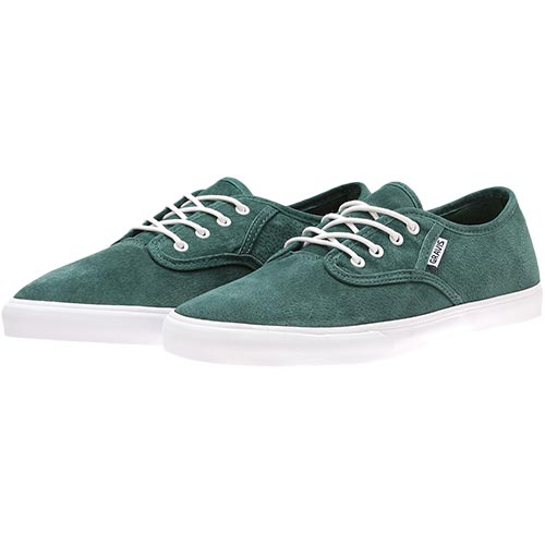 SLYMZ SUEDE スリムズ スウェード GREEN 16287100300